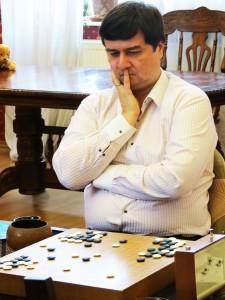 Вадим Махов на турнире Русской школы Го и Стратегии